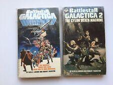 Battlestar Galactica Paperback Book volume 1, 2, lot