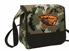 Oregon State Lunch Bag Cooler CAMO OSU Lunchbox Bags COOL MESSENGER BAG STYLE!