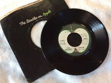 "Wings,Live and let die&I lie around Apple1863 7"" 45 Single"