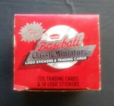1986 Fleer Classic Miniature 120-card Mini Baseball Factory Set   CANSECO ROOKIE