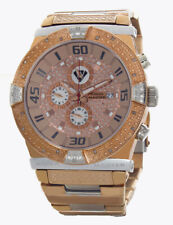 Aqua Master Men's Two-Tone Rose Gold Stainless Steel Diamond Watch W#345