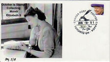 October Stamp Collecting Month Queen Elizabeth II cover numbered 5 of 18
