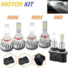 For Chevy Trailblazer 2002-2009 Combo 9005 9006 880 LED Headlight Fog Light Bulb