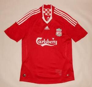 HOME SHIRT ADIDAS FC LIVERPOOL 2008-10 (M) Jersey Trikot Maillot Maglia Camiseta
