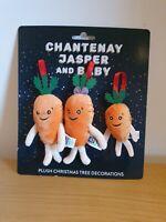 Kevin The Carrot Christmas Tree Decorations Plush Chantenay Jasper Baby Aldi