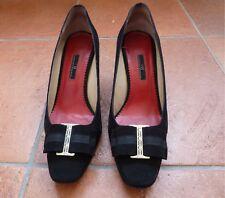 CAROLINA HERRERA zapatos de tacón talla 39 negros usados solamente una vez