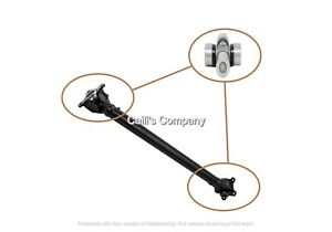 26203401609 For 2010 FORD TAURUS V CPV DRIVESHAFT PROP DRIVE SHAFT U-Joint 24X62