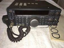Kenwood TS 450S Ham Radio Transceiver operational.
