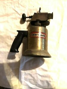VINTAGE CRAFTSMAN BRASS BLOW TORCH