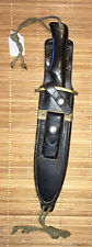 Orig. Cold War Era C 1980's Randall Model 14-Attack,Fighting Knife And Scabbard