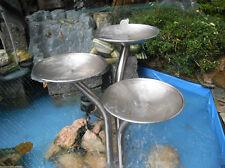 Edelstahlbrunnen 3 Schalen-Brunnen