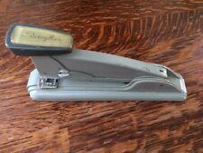Swingline Grey Vintage Stapler Long Island New York USA Works Sturdy Heavy