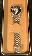 ELVIS PRESLEY MENS WRIST WATCH WITH TIN CASE  NEW!