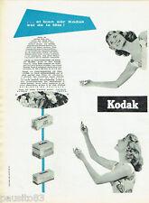 PUBLICITE ADVERTISING 125  1955  Kodak  le film kodachrome