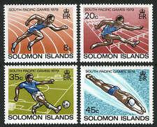 Solomon Islands 389-392,MI 377-380,MNH.South Pacific Games:Running,Swimming,1979