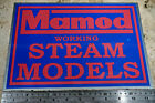 HOMEMADE MAMOD STEAM MODELS METAL SIGN FIRE ENGINE VAN BUS LORRY ROLLER WAGON