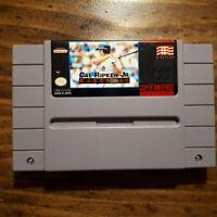 Cal Ripken Jr. Baseball ( SNES Super Nintendo OEM  ) Tested!
