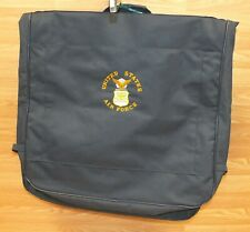 United States Air Force Navy Blue Luggage Garment Travel Bag **READ**