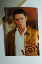 REBELDE RBD CHRISTOPHER UCKERMANN DIEGO LEATHER JACKET PHOTO #9 MUSIC STICKER