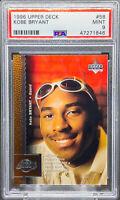 Kobe Bryant 1996-97 Upper Deck #58 ROOKIE RC PSA 9 MINT LAKERS HOF
