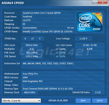 Working Intel Core 2 Quad Q9550 SLB8V 2.83 GHz LGA775 Quad-Core Processor