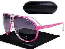 NEW Fashion Men & Women Retro Sunglasses Gradient Pink Frame Unisex Glasses +Box