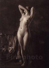 1925 Original Female Nude Woman By FRANZ GRAINER Photo Gravure Art Deco Print