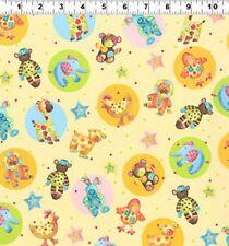 Cuarto gordo peluches bebé animales Algodón Colchas de retazos de tela