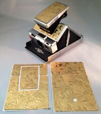 "Polaroid SX-70 PolaSkinz Gold ""Western"" Embossed Replacement Skinz SLR680/690"