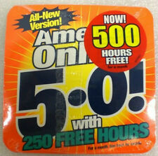 1999 AOL America Online 5.0 CD Install Disk Software 250 Free Hours  New Sealed