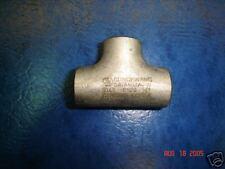 """Stainless Steel Butt Weld Tee, 1/2"""" Sch 10 T-304/L New"""