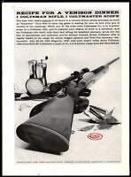 1959 COLT Coltsman Rifle AD w/Colteer Scope Collectible Firearms Advertising