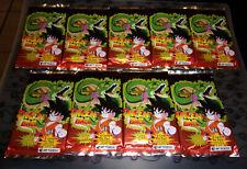 9 booster trading card us cartes dragon ball , scéllée , neuf