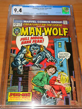 CREATURES ON THE LOOSE #30 – CGC 9.4 NM (1st App Simon Stroud ; Man-Wolf Begins)