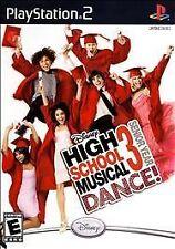 High School Musical 3: Senior Year Dance (Sony PlayStation 2, 2008) + DANCE MAT