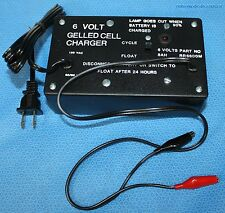 Sigma Tech 6 Volt Gelled Cell Battery Charger Float Setting RR6600M NOS