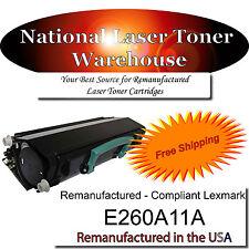 For Lexmark E260 E260d E260dn, E260A11A, E260A21A Toner Cartridge-Check Reviews
