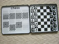 Go Play Magnetic Chess Game Ideal For Travel / Caravan
