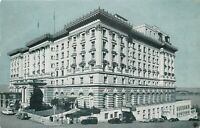DB Postcard CA E379 The Fairmont Hotel Atop Nob Hill San Francisco 1954 Cancel