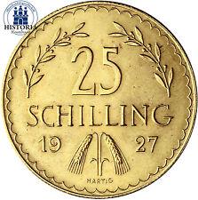 Österreich 25 Schilling Gold 1926-1934 Goldmünze I. Republik Münze in Münzkapsel