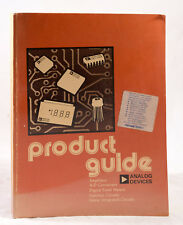 PRODUCT GUIDE FOR 'ANALOG DEVICES' - AMPLIFIERS, A-D CONVERTERS, CIRCUITS 1975