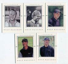 2001 Upper Deck Golf Gallery 5-card Golf Insert Box Tiger Woods Jack Nicklaus