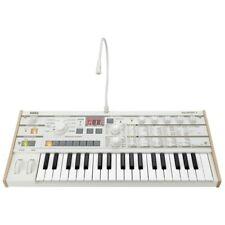 Korg MicroKORG S 37-Key Midi Sintetizador Y Vocoder Blanco + Garantía