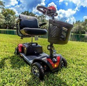 Golden Buzzaround XLS-HD 4 Wheel Heavy Duty Portable Electric Scooter GB147Z NEW