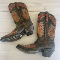 CORRAL Embroidered Mens Leather Cowboy/Western Boots Sz 6