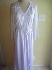 Vintage Vassarette Peignoir Set Lavender S Underneath It All Nightgown Robe USA