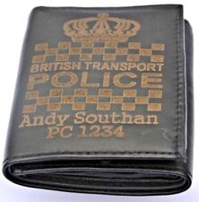 More details for british transport police personalised gift wallet engraved any name & number