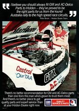 1983 84 PETER BROCK VH HOLDEN COMMODORE GROUP 3 SS A3 POSTER AD BROCHURE ADVERT