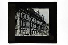 Hôtel de ville Besançon ? France Plaque de projection Lanterne magique ca 1900
