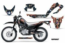 Dirt Bike Decal Graphic Kit MX Sticker Wrap For Yamaha XT250X 2006-2018 WW2 BOMB